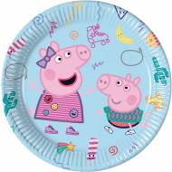 8 Assiettes Peppa Pig Fun