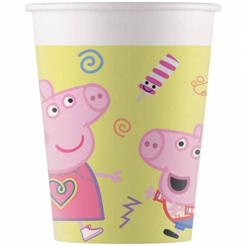 8 Gobelets Peppa Pig Fun