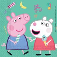 20 Serviettes Peppa Pig Fun