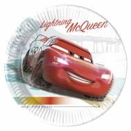 8 Assiettes Cars Entrainement - Compostable
