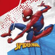 20 Serviettes Spiderman