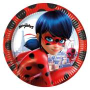 8 Assiettes Lady Bug