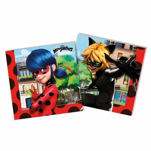 20 Serviettes Lady Bug