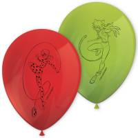 Contient : 1 x 8 Ballons Lady Bug