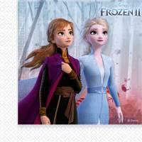 Contient : 1 x 20 Serviettes - La Reine des Neiges 2