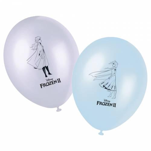8 Ballons - La Reine des Neiges 2