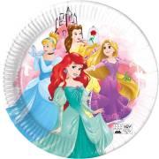 8 Assiettes Princesse - Compostable
