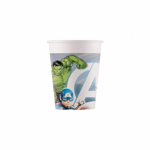 8 Gobelets Avengers - Compostable