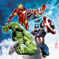 20 Serviettes Avengers  - Compostable