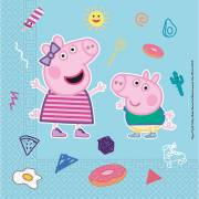 20 Serviettes Peppa Pig - Compostable