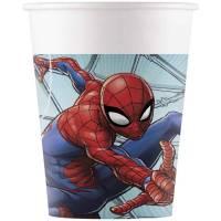 Contient : 1 x 8 Gobelets Spiderman Team
