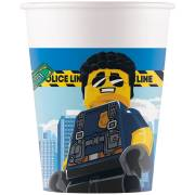 8 Gobelets Lego City