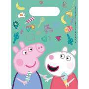 6 Pochettes Cadeaux Peppa Pig Fun