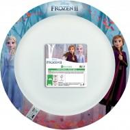 8 Assiettes La Reine des Neiges 2 - Compostable