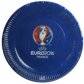8 Assiettes Euro 2016