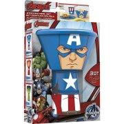 Set vaisselle 3 pi�ces Avengers - Captain America
