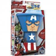 Set vaisselle 3 pièces Avengers - Captain America