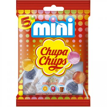 5 Minis Sucettes Chupa Fruits (30 g)