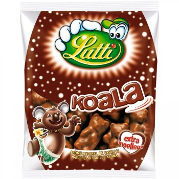 Guimauves Koala Chocolat au Lait 100g