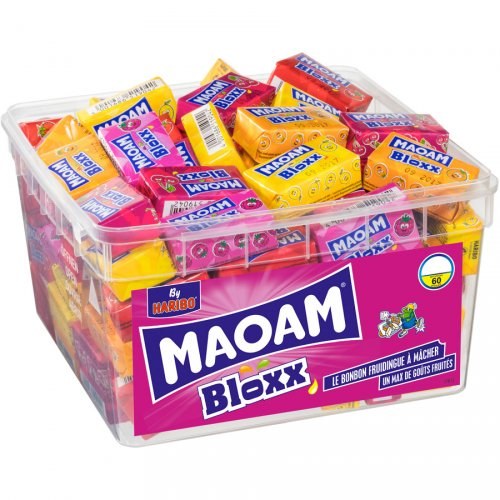 1 Paquet Maoam Bloxx Haribo