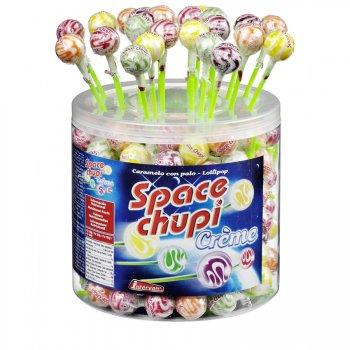 1 Sucette Space Chupi Crème