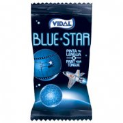 1 Bubble-gum Blue Star (Langue Bleue)