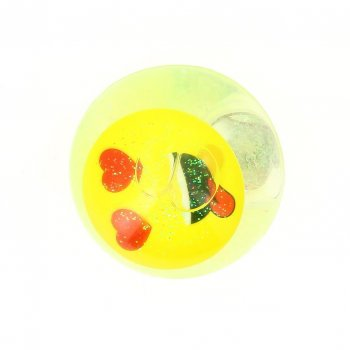 1 Balle Lumineuse Emoji (6,5 cm)