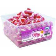 Tubo 240 bonbons Coeur Fraise