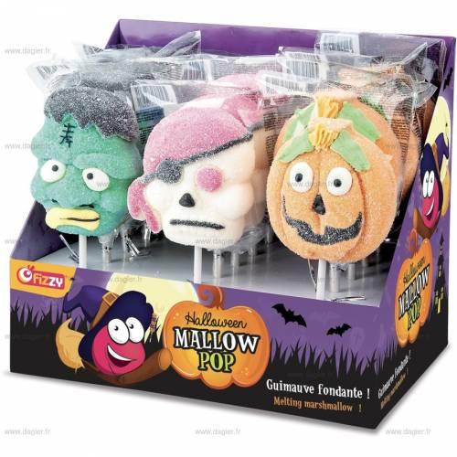 Sucette Halloween Mallow pop
