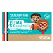 Kit Maquillage 3 Couleurs Pirate & Coccinelle BIO