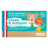 Kit Maquillage 3 Couleurs Clown & Arlequin BIO