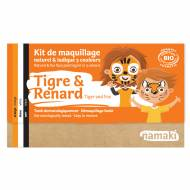 Kit Maquillage 3 Couleurs Tigre & Renard BIO