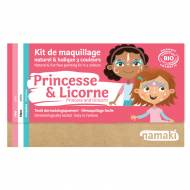 Kit Maquillage 3 Couleurs Princesse & Licorne BIO