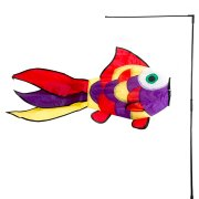 Manche � Air Poisson Multicolore