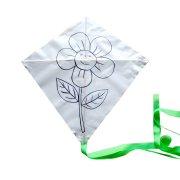Cerf-volant Fleur à Personnaliser
