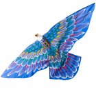 Cerf-volant Traditionnel Indonésien Aigle Bleu