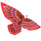 Cerf-volant Traditionnel Indon�sien Aigle Rouge