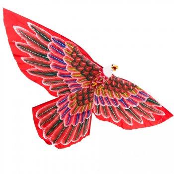 Cerf-volant Traditionnel Indonésien Aigle Rouge