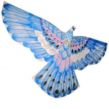 Cerf-volant traditionnel indonésien Oiseau Bleu
