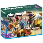 Equipage Pirates avec armes Playmobil