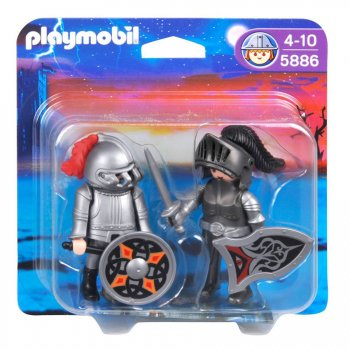 Duo chevalier de fer Playmobil