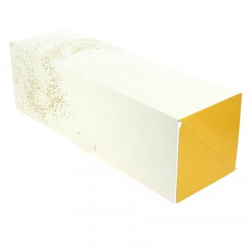 Boîte à Bûche Gold - 35 cm