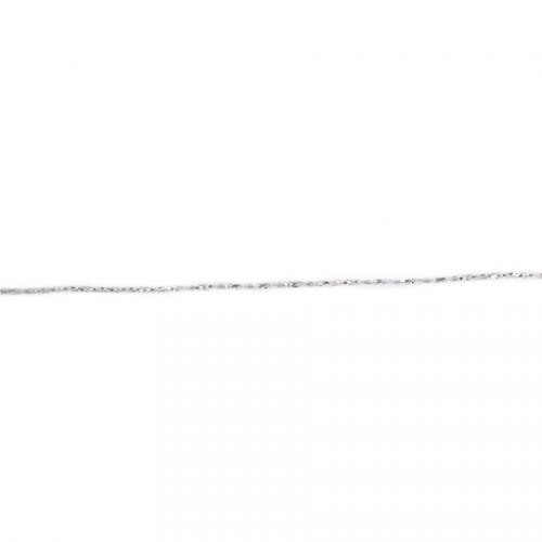Cordon Spika Argent 1 mm - 10 m