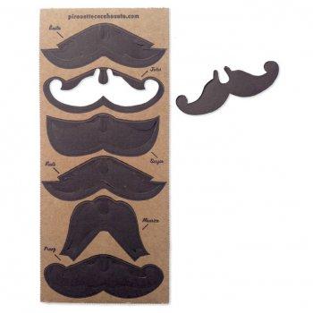 Mes Moustaches en Carton