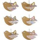 Kit Créatif 6 Oiseaux en carton