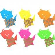 Kit Créatif 6 Chats en carton