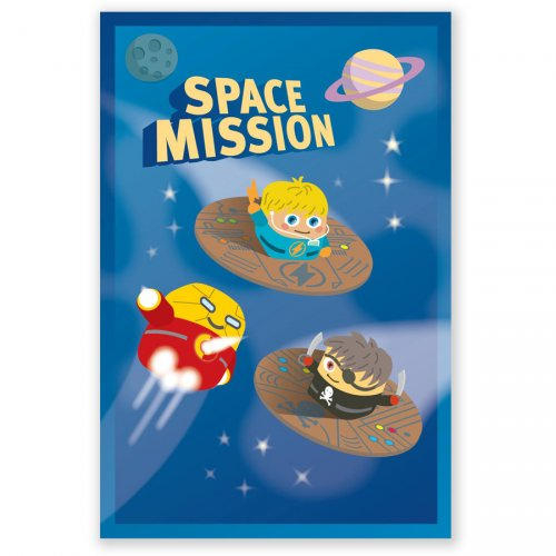 8 Invitations Space Mission