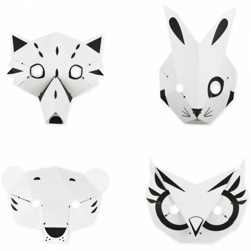 Kit Créatif - Mes Masques Forêt