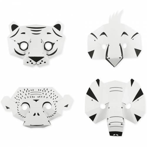 Kit Créatif - Mes Masques Jungle