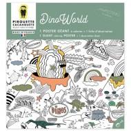 Poster à colorier - DinoWorld